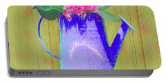 Abstract Floral Art 342 Portable Battery Charger