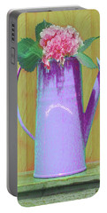 Abstract Floral Art 343 Portable Battery Charger