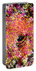 Abstract Floral Swirl No.3 Portable Battery Charger