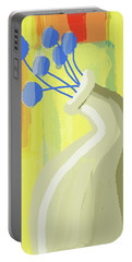 Abstract Flower Vase 2 Portable Battery Charger