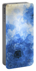 Abstract Flower Vii Portable Battery Charger