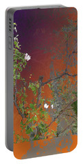 Abstract Flowers Of Light Series #13 Portable Battery Charger