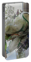 Abstract Flowers Of Light Series #3 Portable Battery Charger