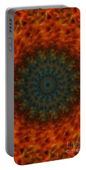 Abstract Fractal  Portable Battery Charger