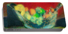 Abstract Fruit Art   99 Portable Battery Charger