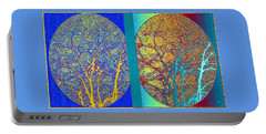 Portable Battery Charger featuring the digital art Abstract Fusion 276 by Will Borden