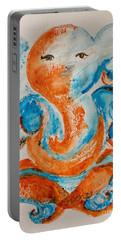 Abstract Ganesha Portable Battery Charger