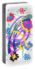 Abstract Garden #2 Portable Battery Charger