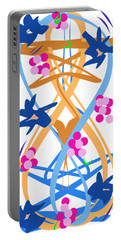 Abstract Garden #3 Portable Battery Charger