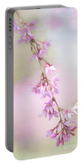 Abstract Higan Chery Blossom Branch Portable Battery Charger