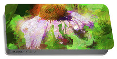 Portable Battery Charger featuring the photograph Abstract Harmony by Jessica Manelis