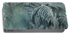 Abstract Ice Crystals Portable Battery Charger