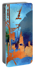 Abstract  Images Of Urban Landscape Series #1 Portable Battery Charger