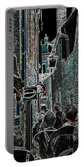 Abstract  Images Of Urban Landscape Series #12b Portable Battery Charger