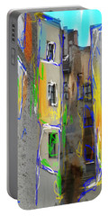 Abstract  Images Of Urban Landscape Series #13 Portable Battery Charger