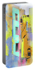 Abstract  Images Of Urban Landscape Series #2 Portable Battery Charger