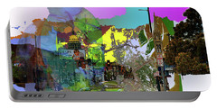 Abstract  Images Of Urban Landscape Series #5 Portable Battery Charger