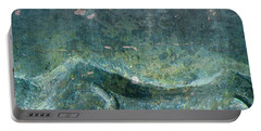 Abstract In Stone Portable Battery Charger by Desiree Paquette