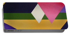 Portable Battery Charger featuring the painting Abstract by Jamie Frier