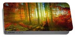 Abstract Landscape 0745 Portable Battery Charger