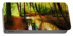 Abstract Landscape 0747 Portable Battery Charger