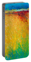Abstract Landscape 1 Portable Battery Charger
