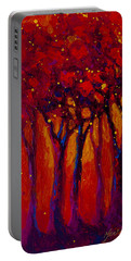 Abstract Landscape 2 Portable Battery Charger