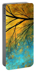 Abstract Landscape Art Passing Beauty 2 Of 5 Portable Battery Charger