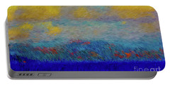 Abstract Landscape Expressions Portable Battery Charger