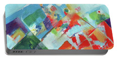 Abstract Landscape1 Portable Battery Charger