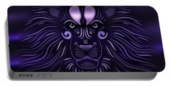 Abstract Lion Portable Battery Charger