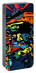 Abstract Man  Portable Battery Charger