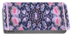 Abstract Mandala Pattern Portable Battery Charger