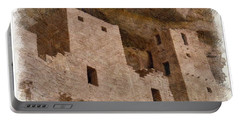 Portable Battery Charger featuring the photograph Abstract Mesa Verde by Debby Pueschel