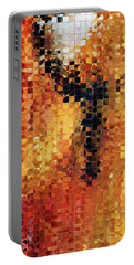 Portable Battery Charger featuring the painting Abstract Modern Art - Pieces 8 - Sharon Cummings by Sharon Cummings