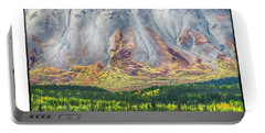 Abstract Mountain Portable Battery Charger