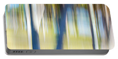 Abstract Moving Trees 30 Portable Battery Charger