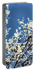 Abstract Of Blossoms 2017a Portable Battery Charger