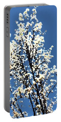Abstract Of Blossoms Portable Battery Charger