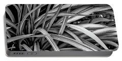 Abstract Of Leaves ... Portable Battery Charger
