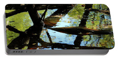 Abstract Of St Croix River 03 Portable Battery Charger