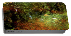 Abstract Of St Croix River 04 Portable Battery Charger