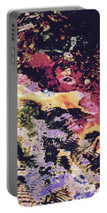 Abstract Of Water With Koi Portable Battery Charger by Tim Good