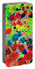 Abstract Oil  Photo Portable Battery Charger by Tom Janca