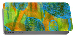 Abstract Painting No. 1 Portable Battery Charger