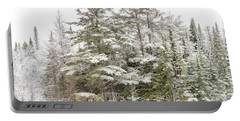 Evergreen Winter Portable Battery Charger