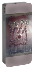 Abstract Princess Dreams Of Grandeur Portable Battery Charger by Talisa Hartley