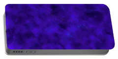 Portable Battery Charger featuring the photograph Abstract Purple 7 by Clare Bambers