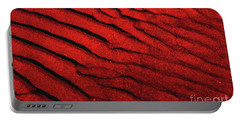 Abstract Red Sand- 2 Portable Battery Charger