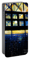 Abstract Reflections Digital Art #5 Portable Battery Charger